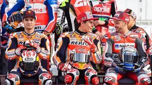Pedrosa, Márquez y Dovizioso, en primera línea en el Mundial de MotoGP que empieza este domingo en Catar.