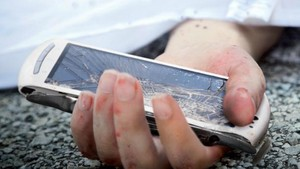 Teléfono móvil, causante de accidente de tráfico