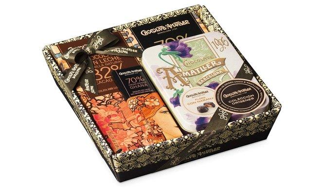 Una selección de chocolates