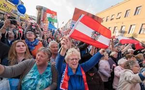 Seguidores del FPO, el partido ultraderechista austríaco.