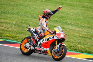 Márquez surt líder del Mundial després de guanyar per vuitena vegada a Alemanya