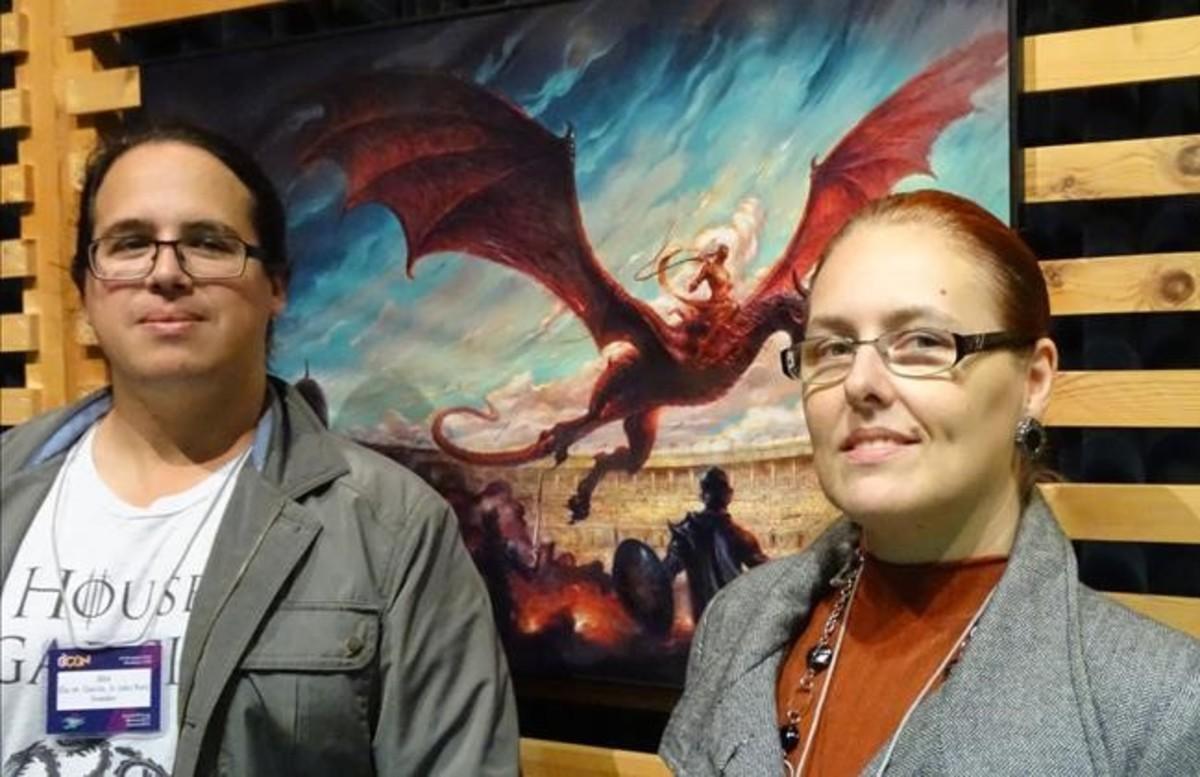 Elio Garcia y Linda Antonsson.