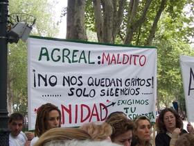 Imagen de archivo de una manifestación de la Asociación Enfermas del Agreal.