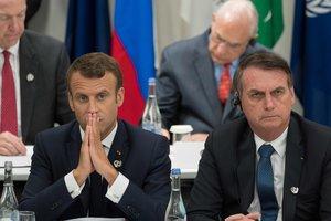 El Brasil envia missatge a Macron i defensa la seva sobirania sobre l'Amazònia