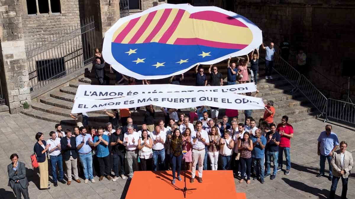 Albert Rivera advierte a Pedro Sánchez: Torra no es un aliado, es un adversario político.