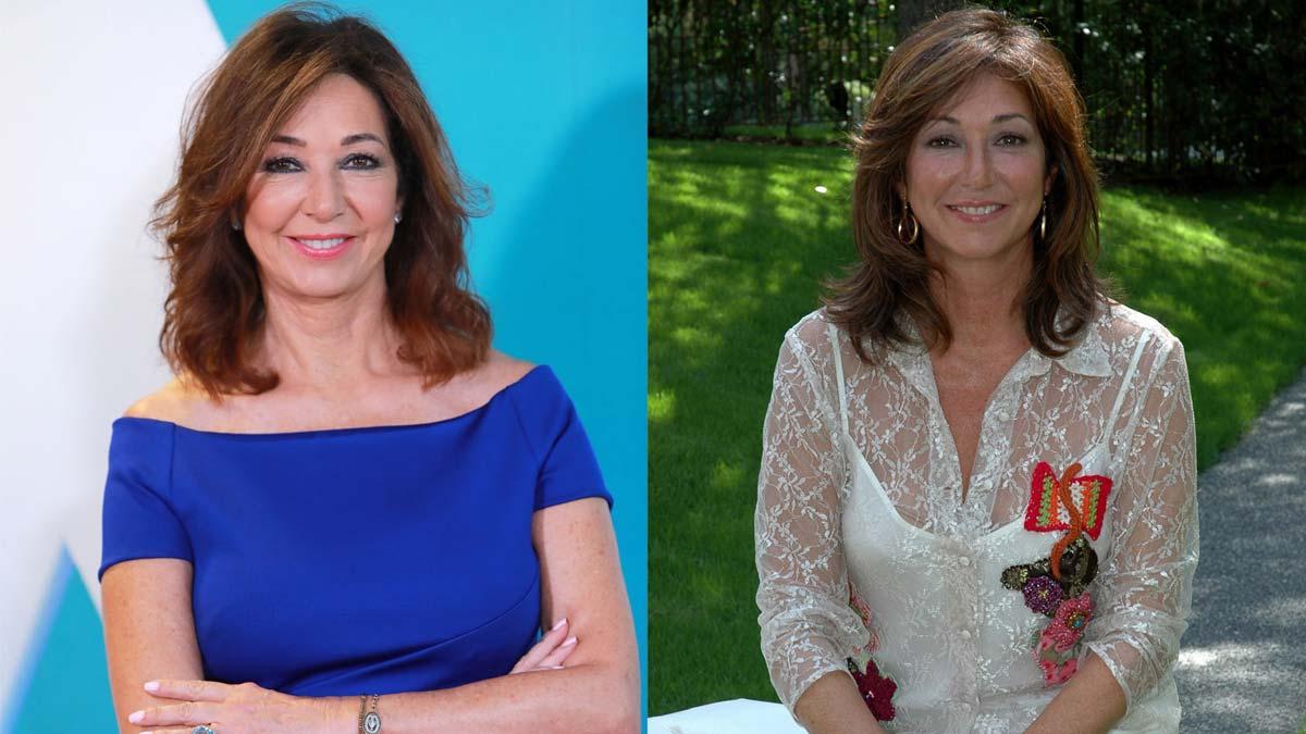 Ana Rosa Quintana, ahora y hace 15 años