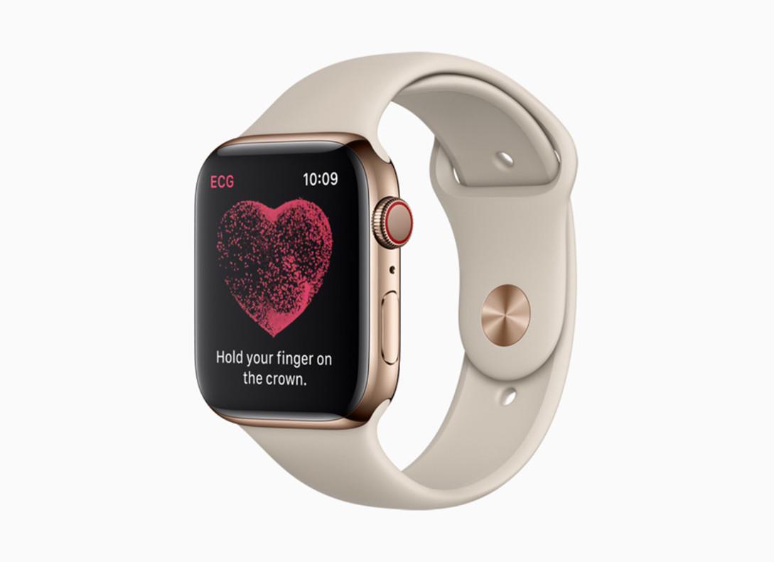 El Apple Watch series 4.