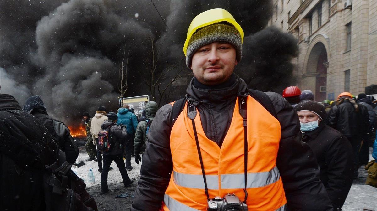 FOTOS: Periodista ruso