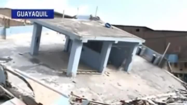 Efectos del terremoto de Ecuador.