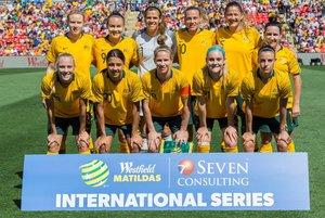 La selección australiana de fútbol.