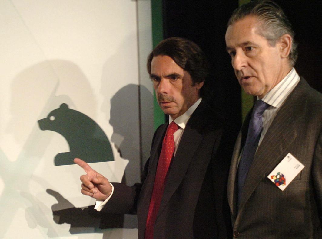 Aznar y Blesa, en el 2006.
