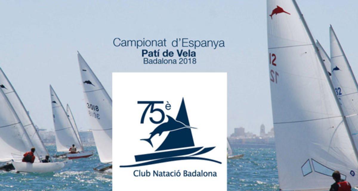 Campeonato de España de Patín a Vela en Badalona.