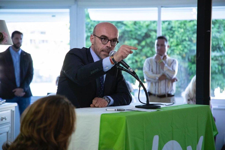 El candidato de Vox a las elecciones europeas, Jorge Buxadé.