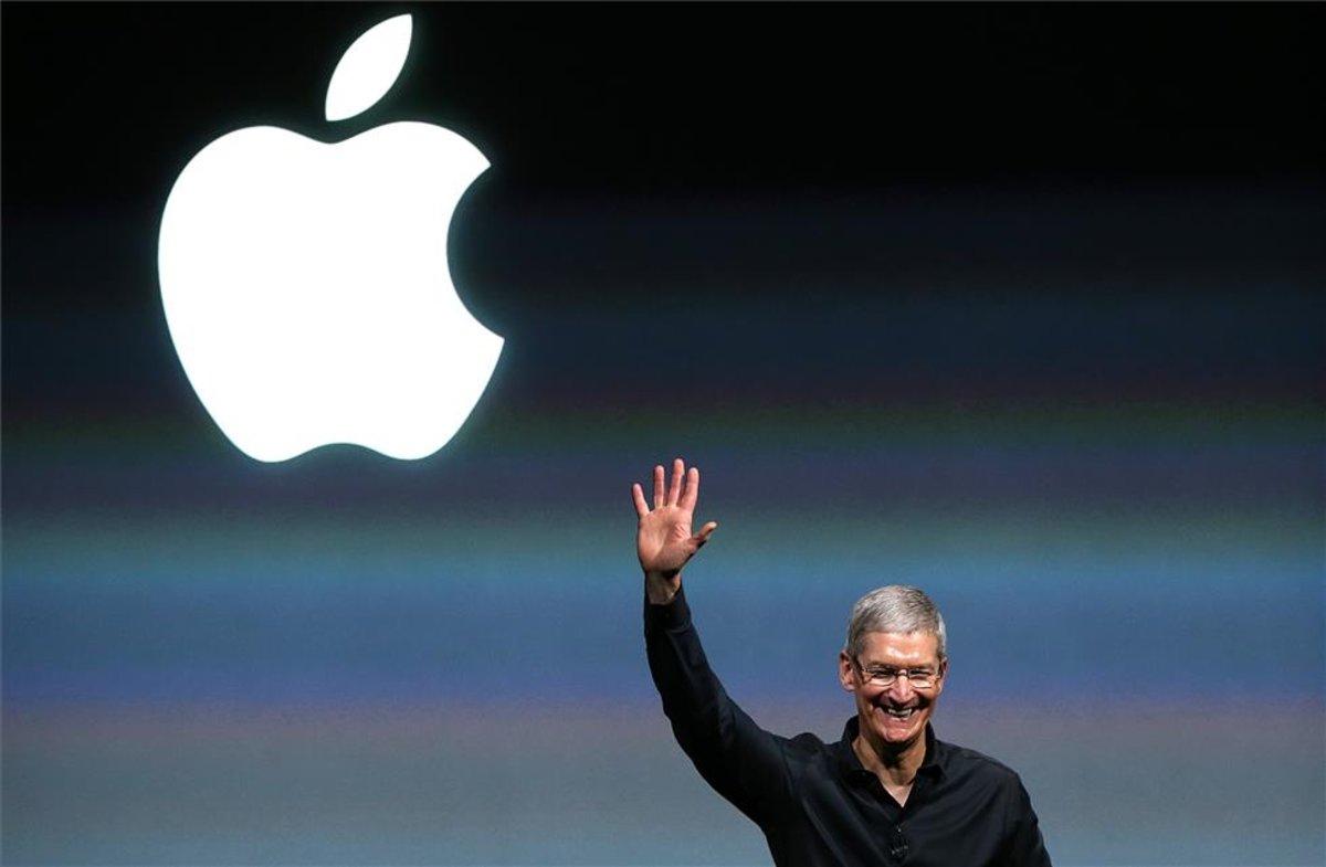 El consejero delegado de Apple, Tim Cook, en una imagen de archivo.