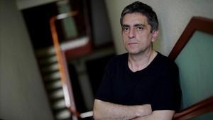 El crítico cultural Jordi Costa, en Madrid.