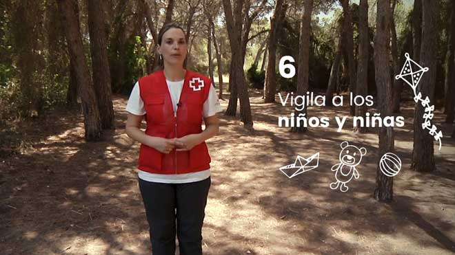 Cruz Roja lanza la campaña #ElMejorCortafuegosEresTú.