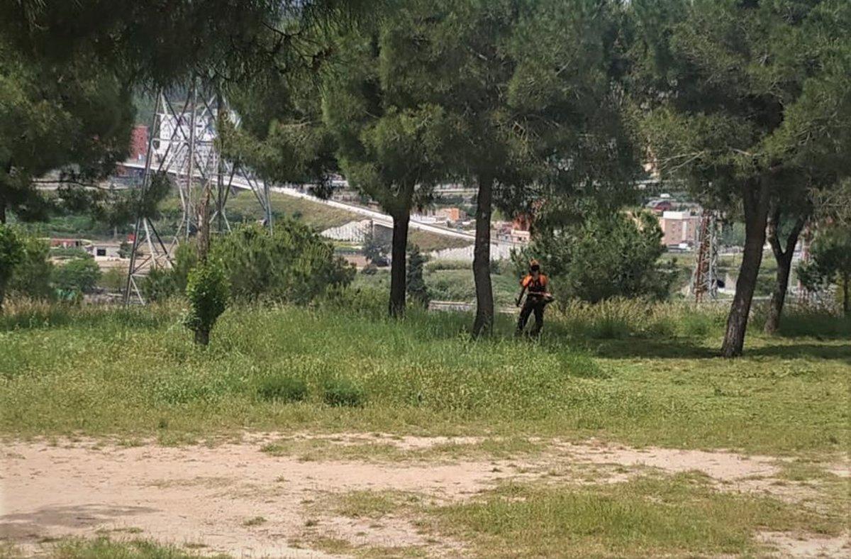 Santa Coloma reforça la vigilància per prevenir els incendis forestals