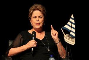 Rousseff fue una de las invitadas en el Hay Festival de Cartagena de Indias, en Colombia.