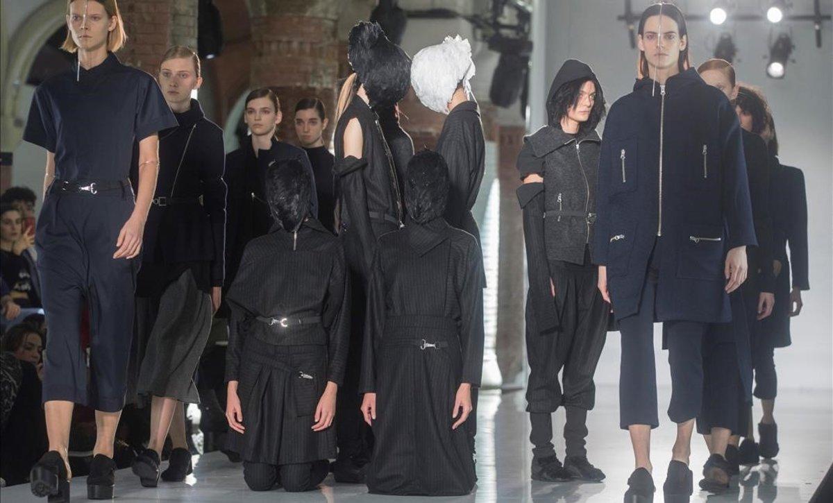 Las modelos 'muertas' de Txell Miras.