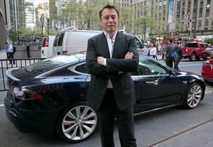 Elon Musk, de Tesla.