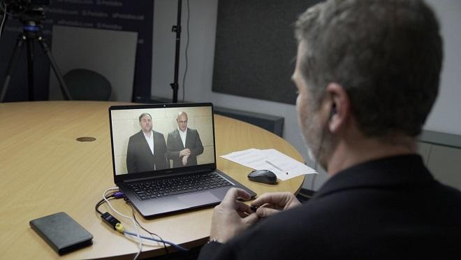Entrevista a Oriol Junqueras y Raül Romeva desde la prisión de Soto del Real