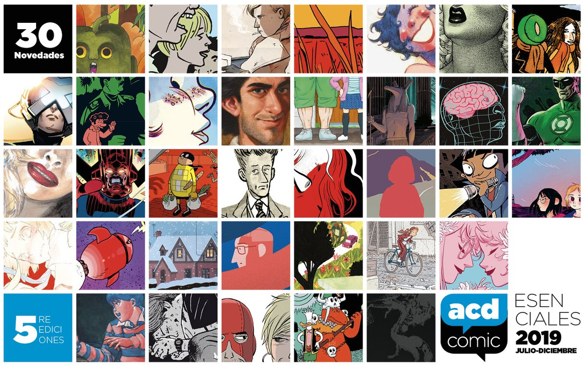 Imágenes de los cómics esenciales del segundo semestre del 2019, según la ACDCómic.