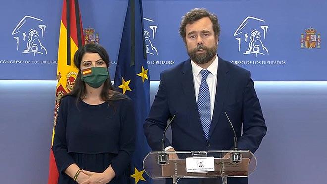 Espinosa de los Monteros (Vox) als immigrants: «Els pocs diners que tenim són per als espanyols»