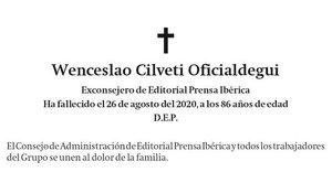 Wenceslao Cilveti Oficialdegui