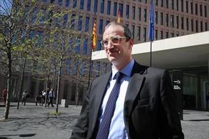 El exteniente de alcalde de Barcelona de CiU Antoni Vives.