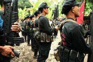 Miembros delNuevo Ejército del Pueblo (NEP).