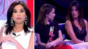 La tensa topada de Marta Flich i Cristina Seguí als lavabos de Mediaset