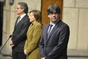 """Puigdemont, als seus consellers: """"No renuncieu a res"""""""