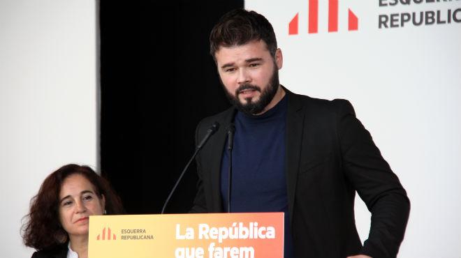 Gabriel Rufián, sobre la revelació de Suárez.