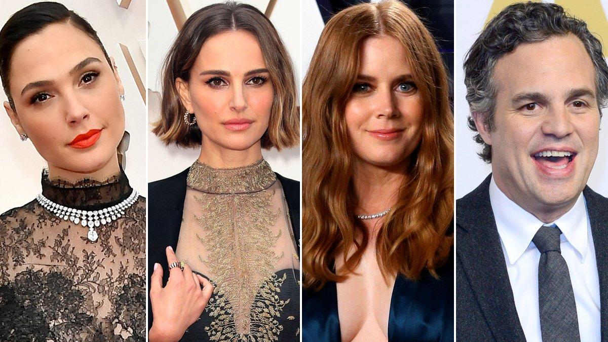 Gal Gadot, Natalie Portman, Amy Adams y Mark Ruffalo son algunas estrellas que están cantando el himno de John Lennon 'Imagine' para pasar el confinamiento.