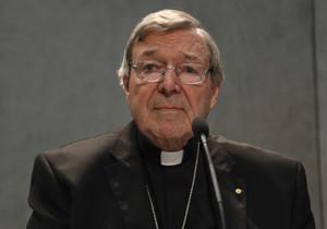 George Pell, durante una rueda de prensa en el Vaticano.
