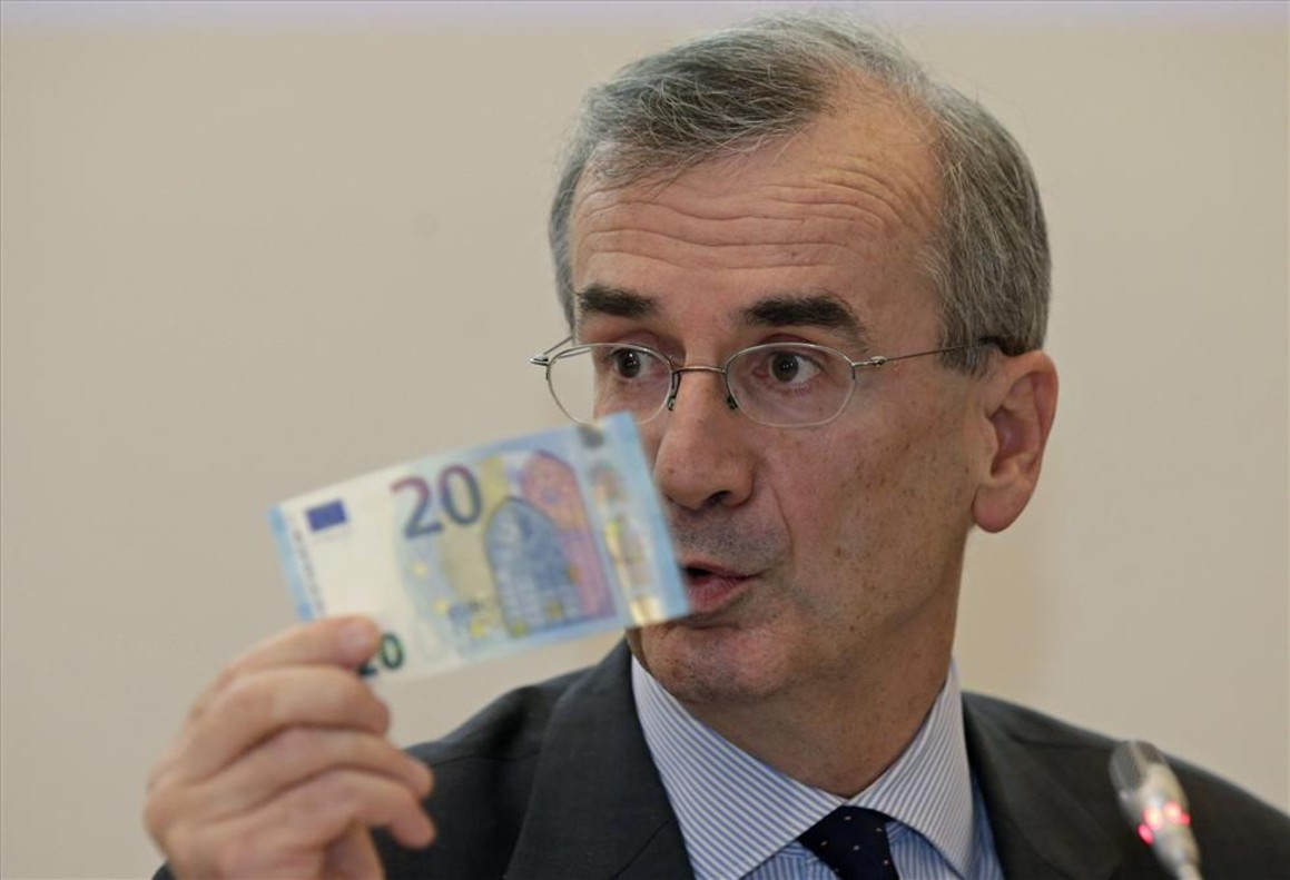 El gobernador del Banco de Francia y miembro del BCE, Francois Villeroy.