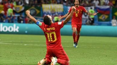 Bélgica echa a Brasil del Mundial