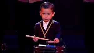 El pequeño Hugo, finalista de la quinta edición de'Got talent' (Tele 5).