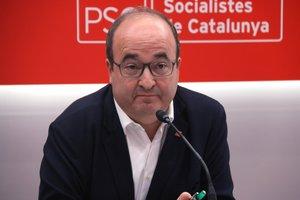 Iceta defiende que el primer paso para una solución en Catalunya es más autogobierno y mejor financiación