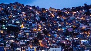 Imagen de la favela Rocinha en Río de Janeiro.