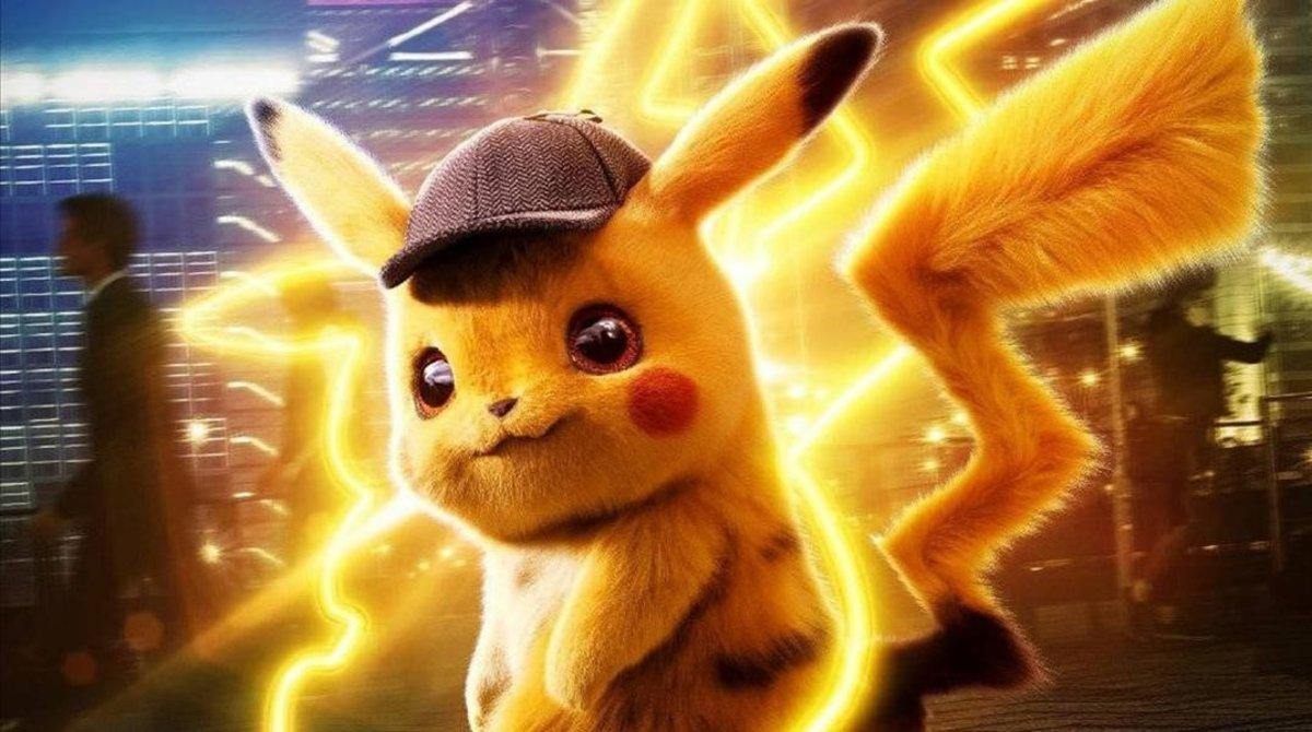 Imagen promocional de la película 'Detective Pikachu'.