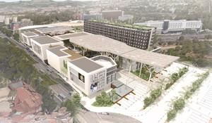 Imagen virtual de cómo será el Finestrelles Shopping Centre.