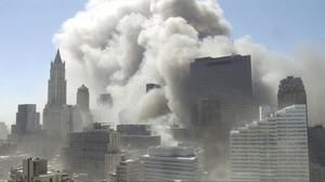 Imágenes de los atentados del 11-S.