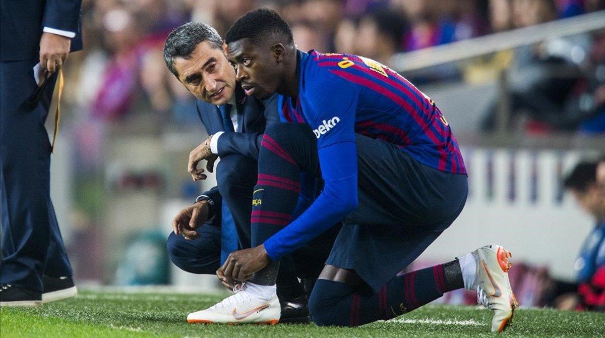 El Barça, indignat amb Dembélé