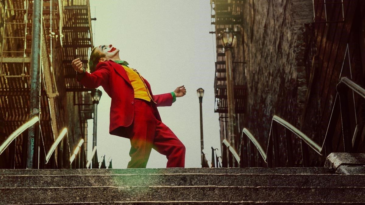 Joaquin Phoenix, en una imagen promocional de 'Joker', de Todd Phillips