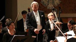John Eliot Gardiner, en el Palau de la Música