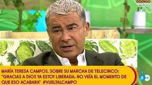 La reacción de 'Sálvame' a las declaraciones de María Teresa Campos sobre su ruptura con Mediaset