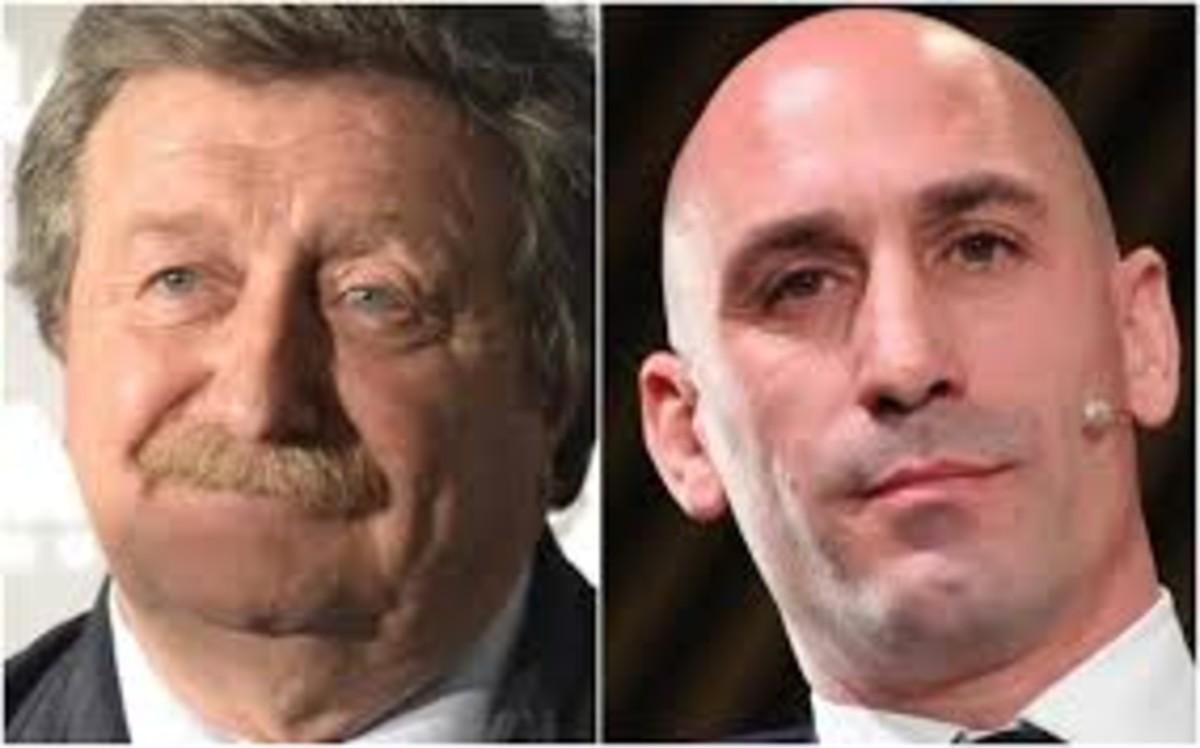 Larrea y Rubiales, candidatos a la presidencia de la federación.