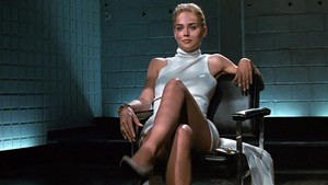 Sharon Stone, en 'Instinto básico'.
