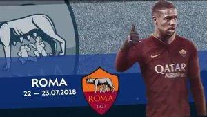 Los dos días de Malcom como jugador del Roma, en el vídeo del Zenit.